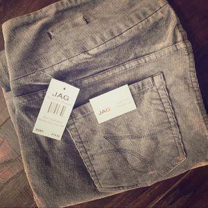 NWT Jag Grey Corduroy Jeans!